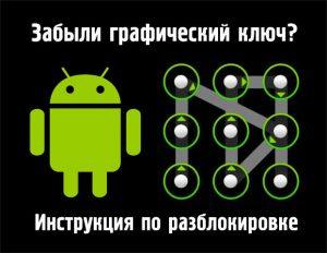 [Инструкция] Как разблокировать графический ключ Android (Андроид): Все способы
