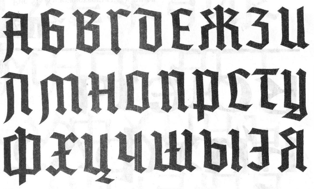 Определяем шрифт в интернете
