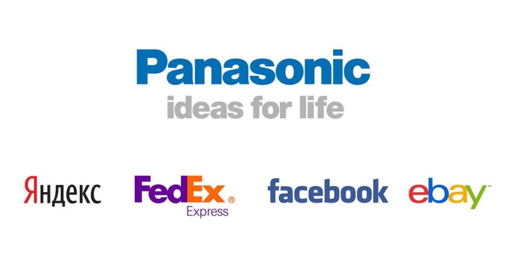 Пример текстового логотипа