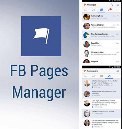 Фейсбук Pages Manager