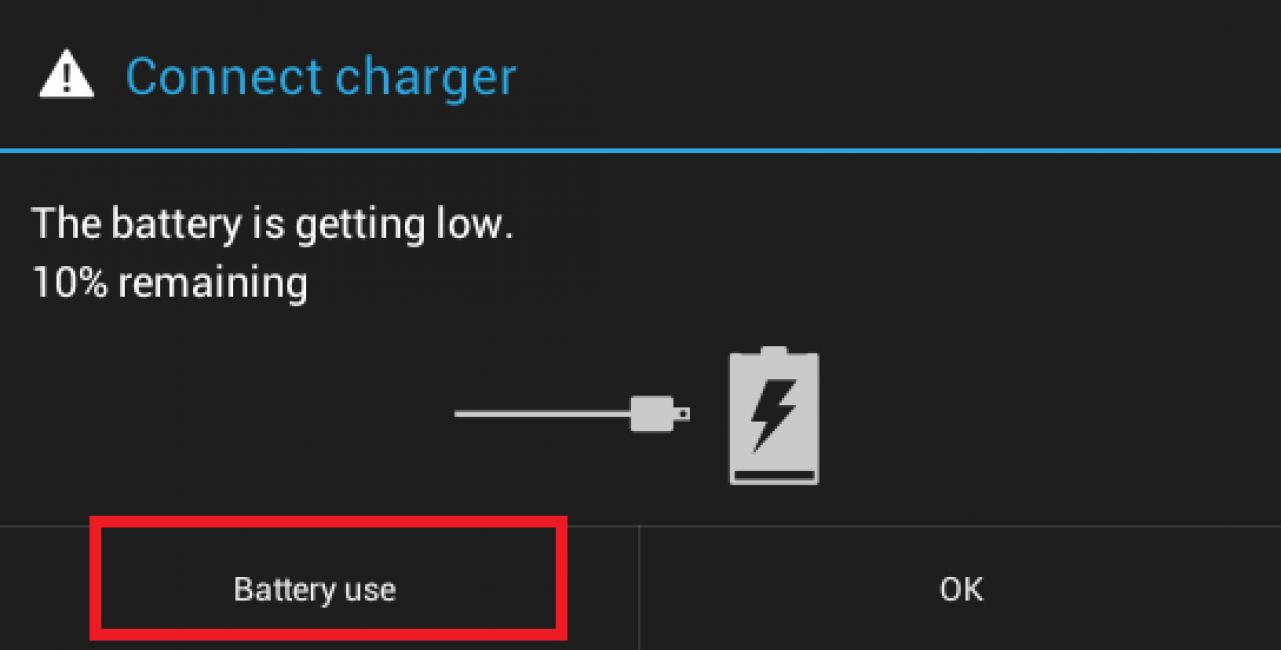 Метод разрядки батареи