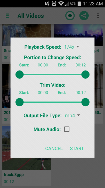 Приложение Slow motion — cam recorder video Fast Motion Lapse