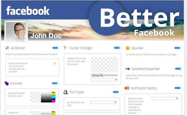 Better FB for Chrome + Color Changer