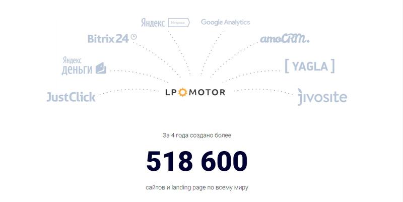 Возможности интегрирования на LPmotor