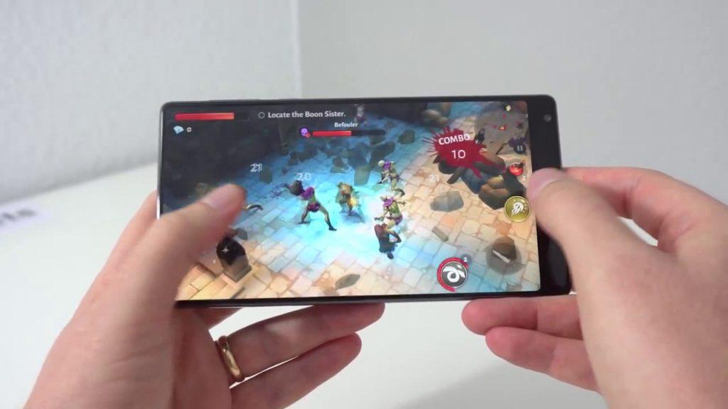 Смартфон не нагревается в играх