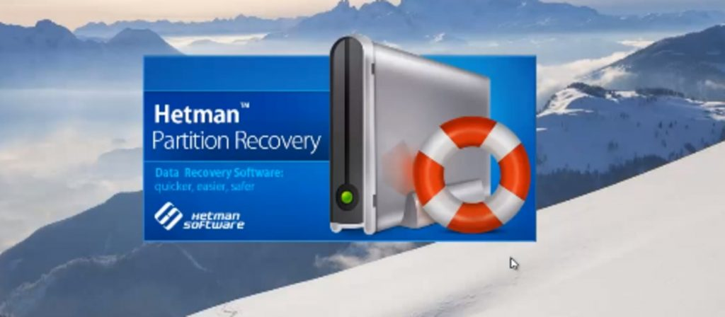 Окно запуска программы Hetman Partition Recovery