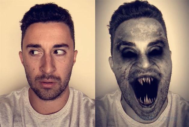 Эффекты в Snapchat