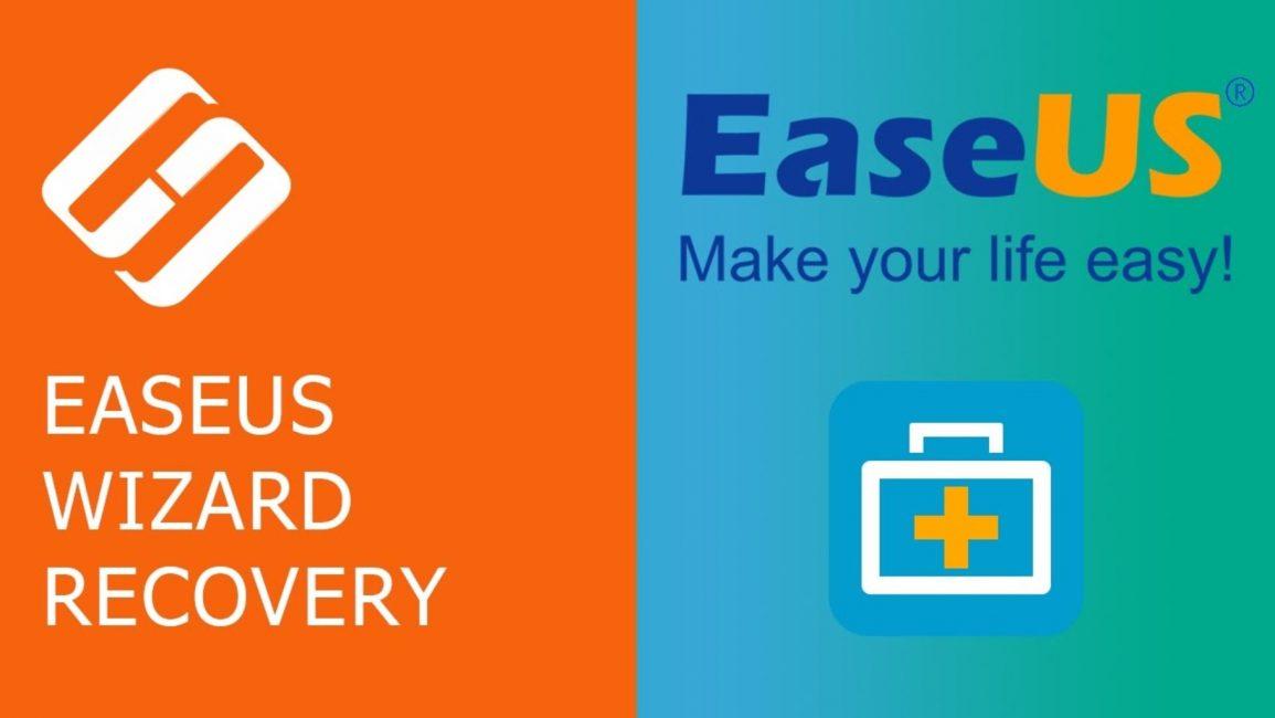 Главное окно программы EaseUS Data recovery Wizard