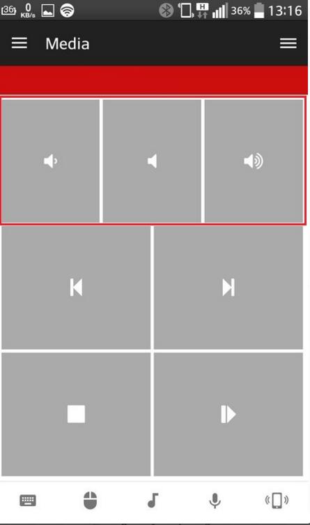 Работа с приложением Unified Remote