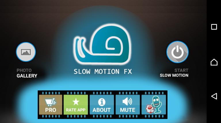 Slow Motion FX мобильное приложение