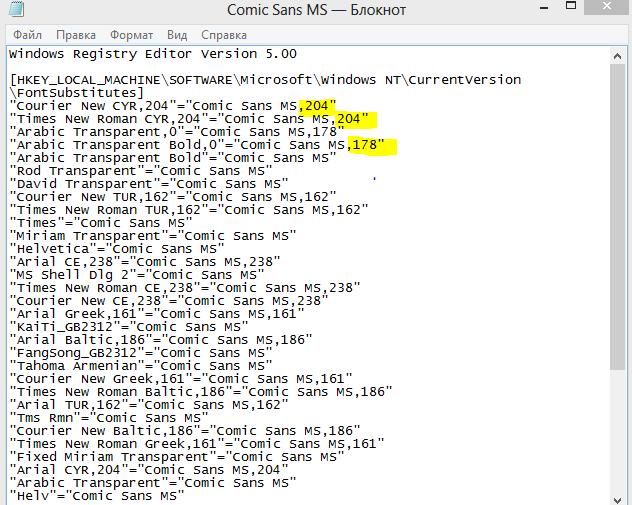 Изменение стиля для написания в Windows 8