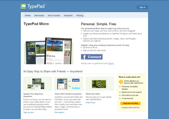 Логотип TypePad Micro