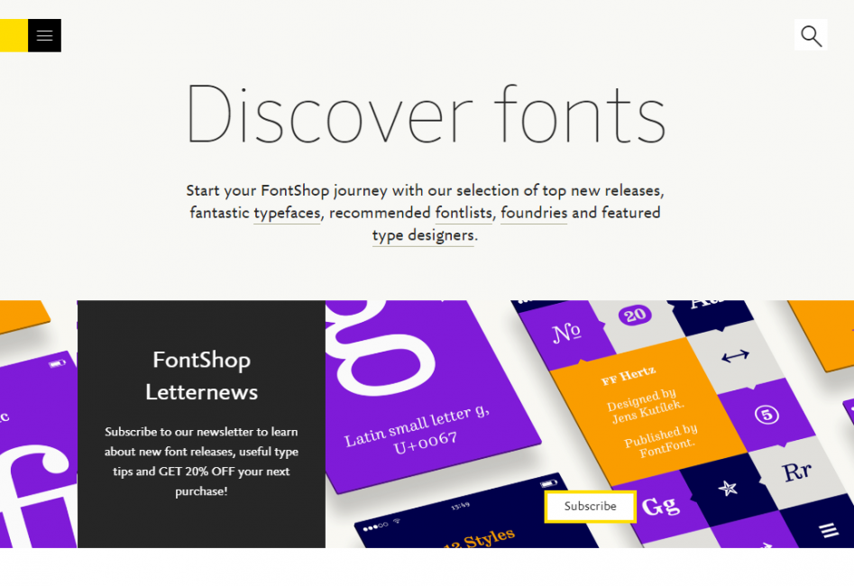 Flickr Typeface Identification