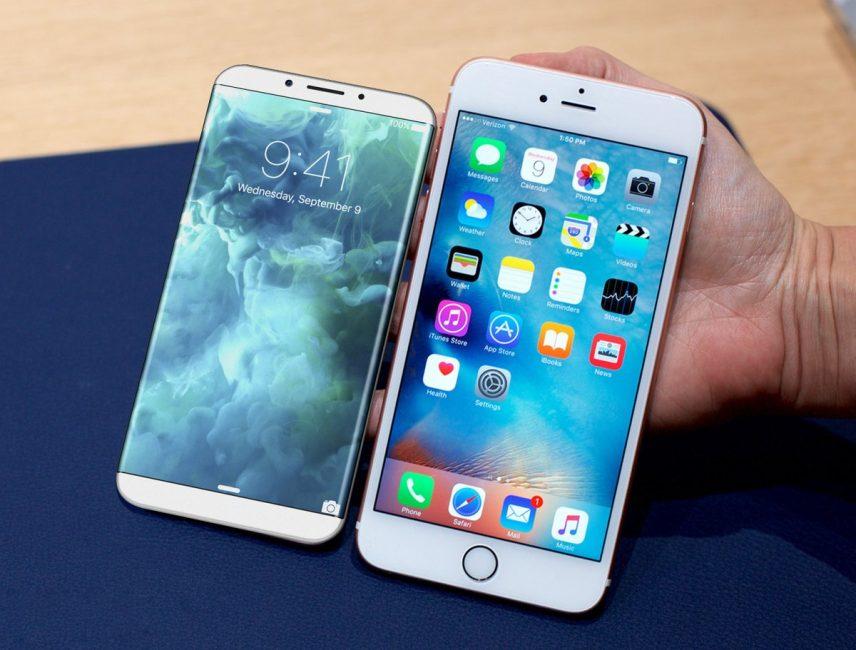 Сравнение iPhone 8 и iPhone 8 Plus