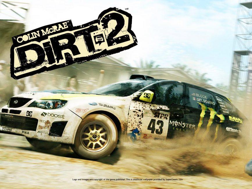 Игра в жанре «гонки»: Colin Mcrac: Dirt 2