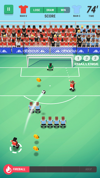 Tiny Striker: World Football – победоносная серия