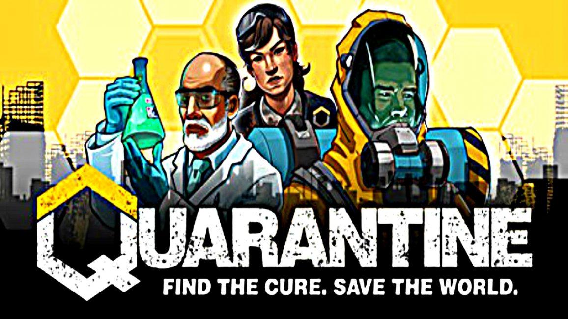 Заставка игры Quarantine