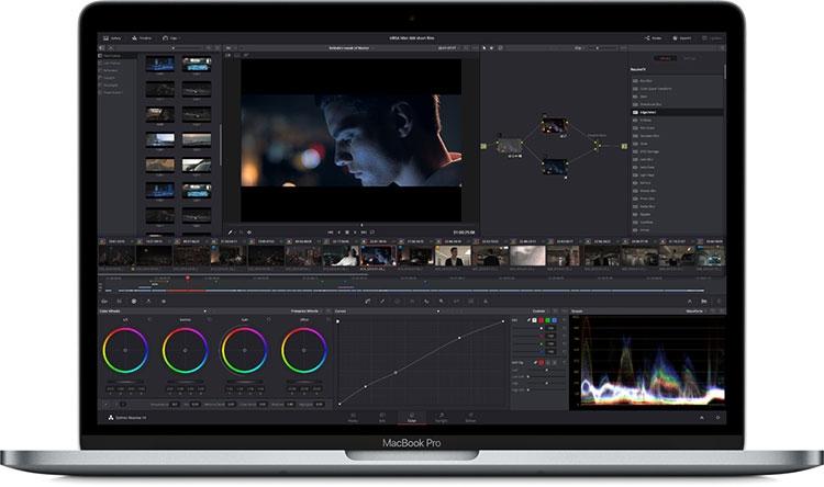 Примерная демонстрация работы Metal 2 на MacBook Pro