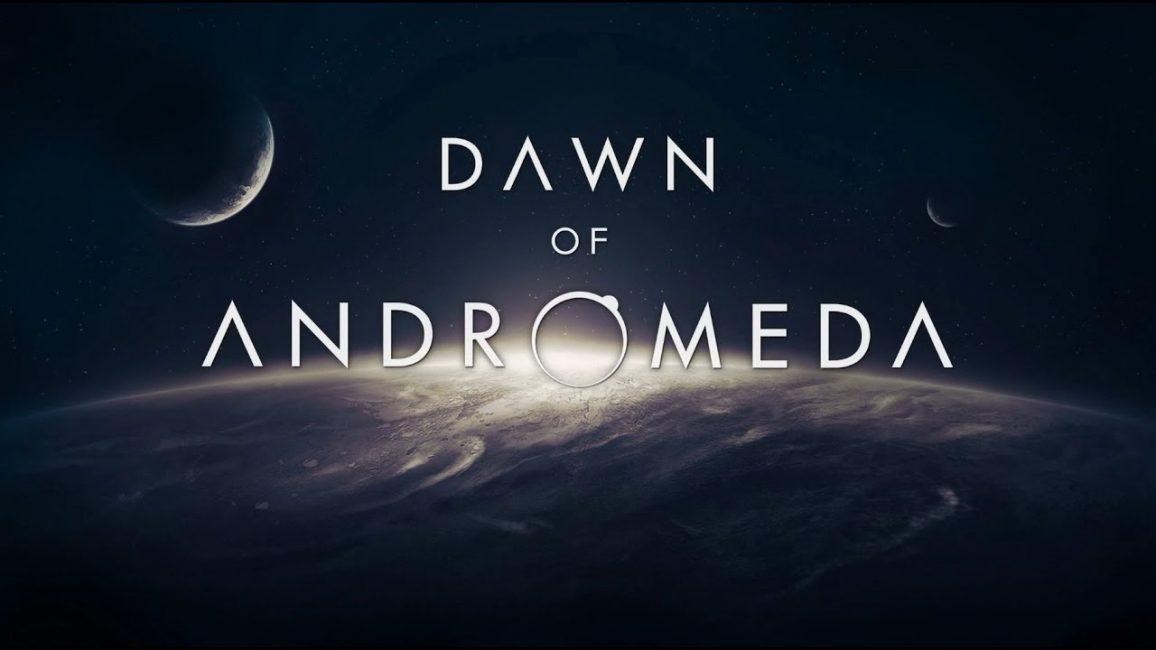 Заставка игры Dawn of Andromeda