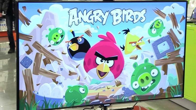 Angry Birds – война с зелеными свинками!