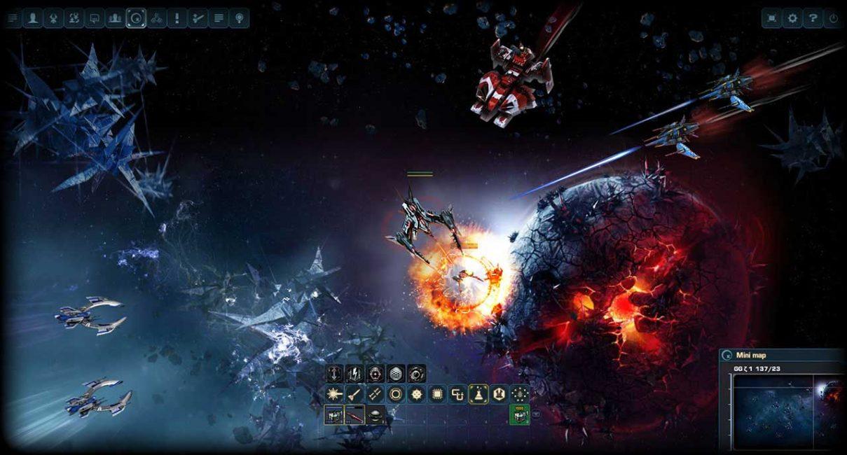Браузерная игра Dark orbit reloades