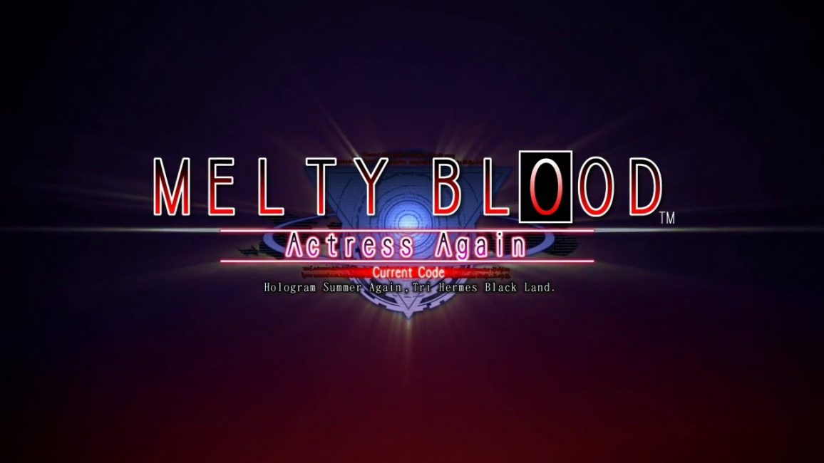 Превью игры Melty Blood Actress Again Current Code