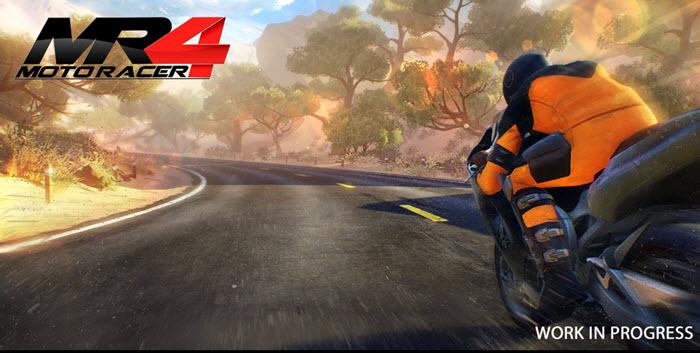 Игра в жанре «гонки»: Moto Racer 4