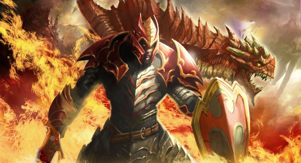 Браузерная игра Dragon knight