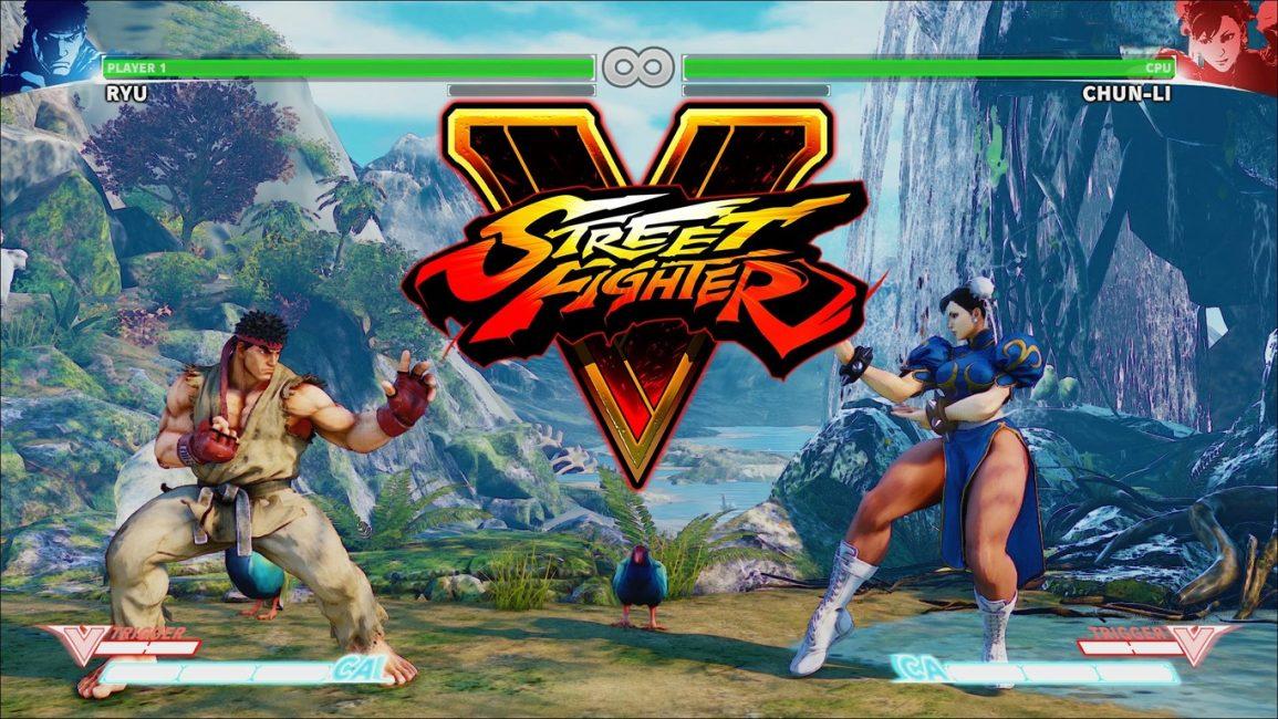 Превью игры Street Fighter V