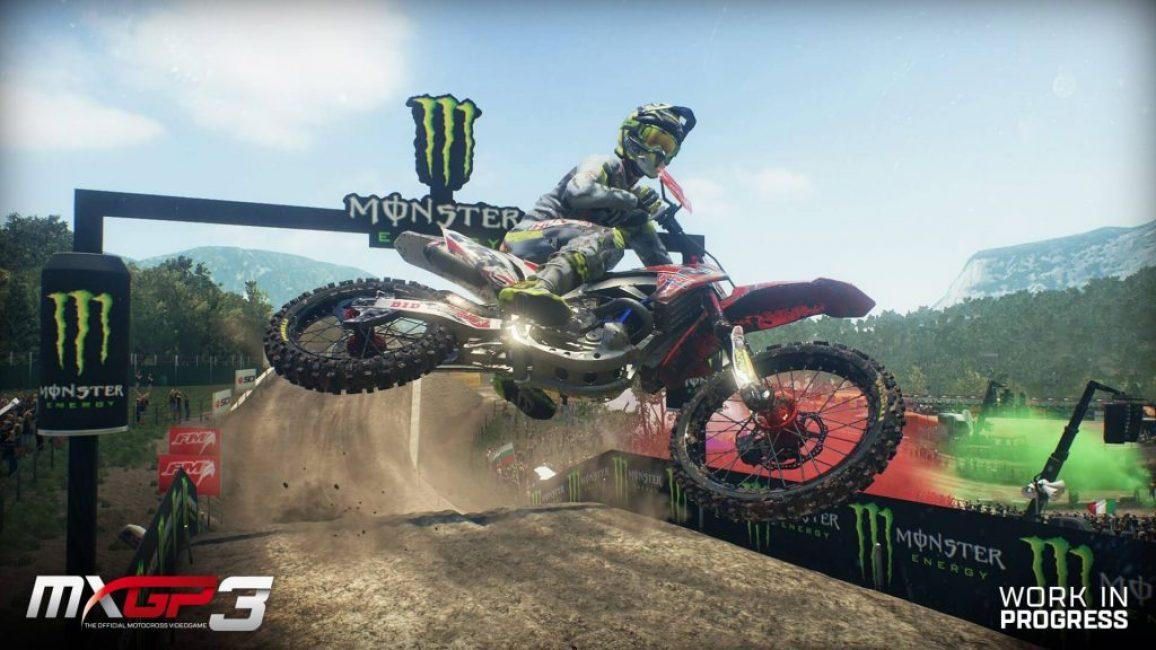 Игра в жанре «гонки»: MX GP 3