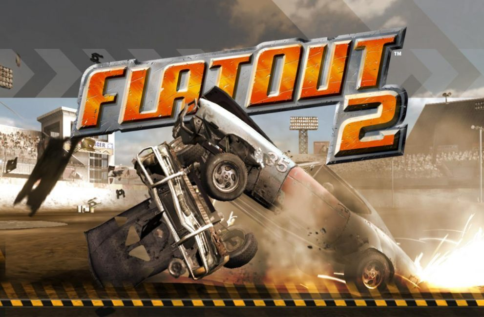 Игра в жанре «гонки»: Flat Out 2