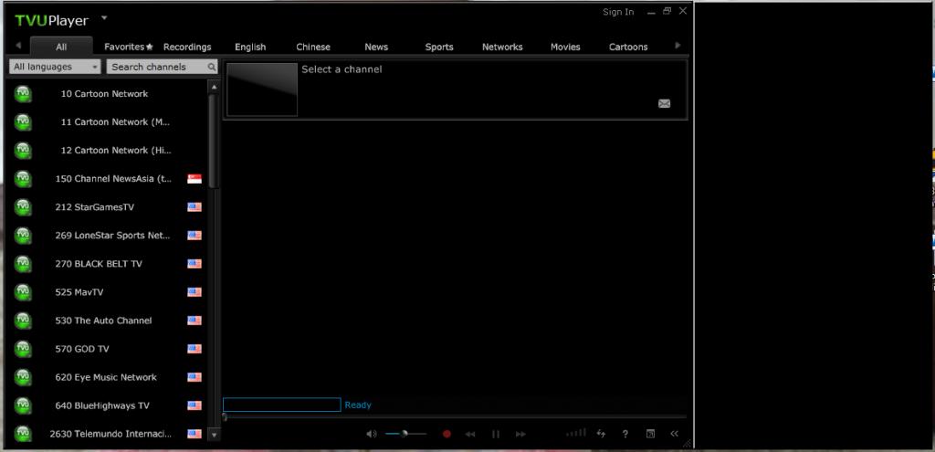 Программа TVUPlayer