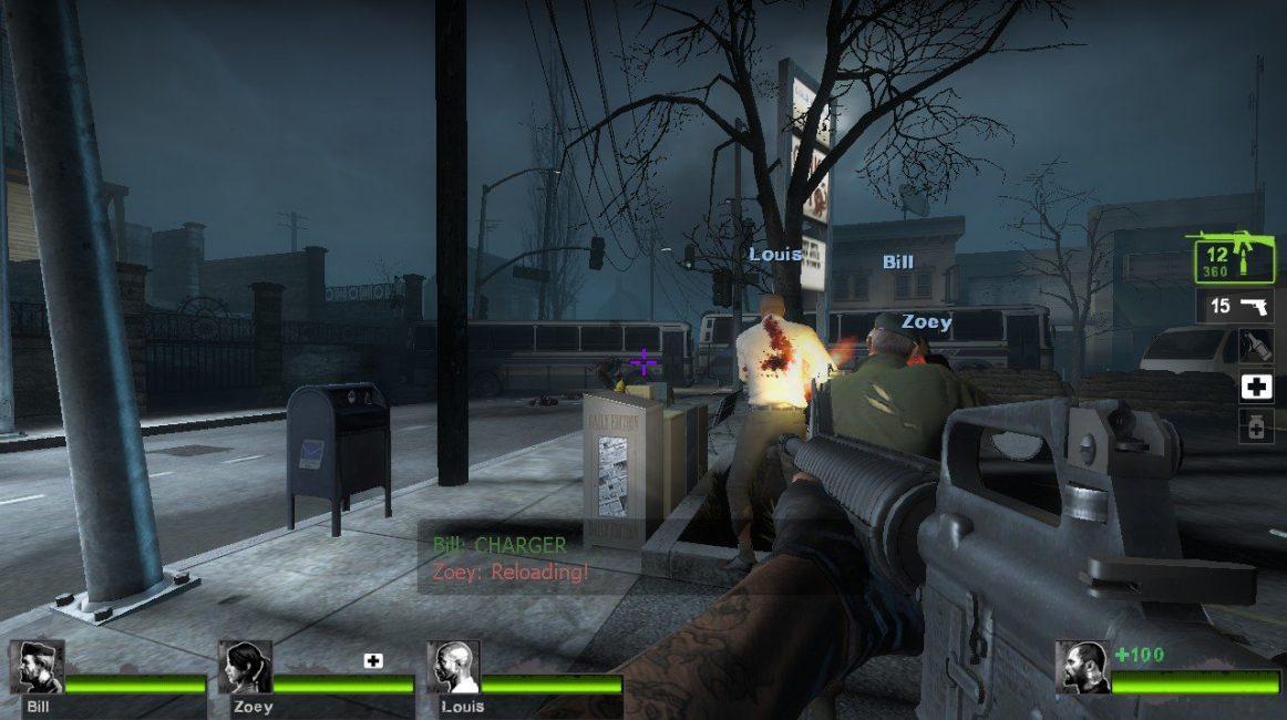 Скриншот процесса игры Death Toll