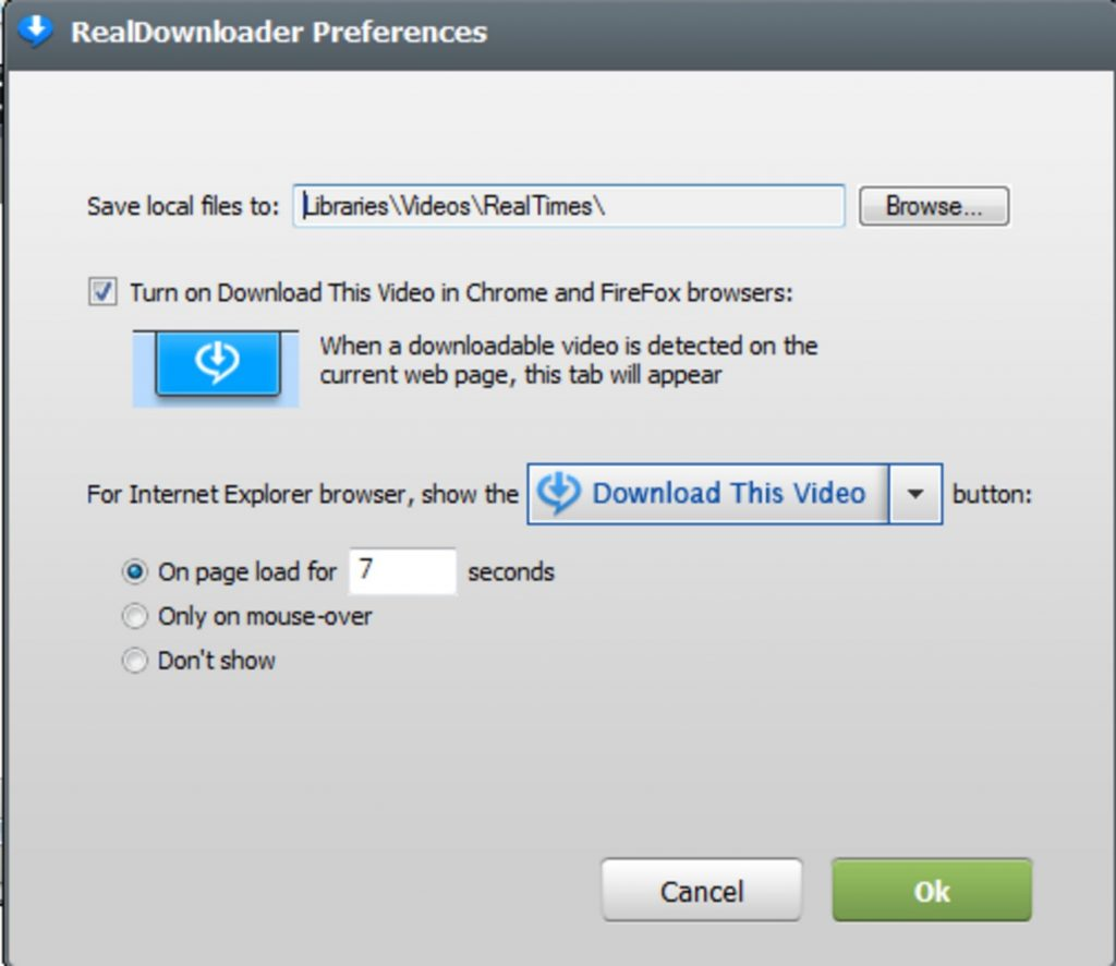 Утилита Realdownloader