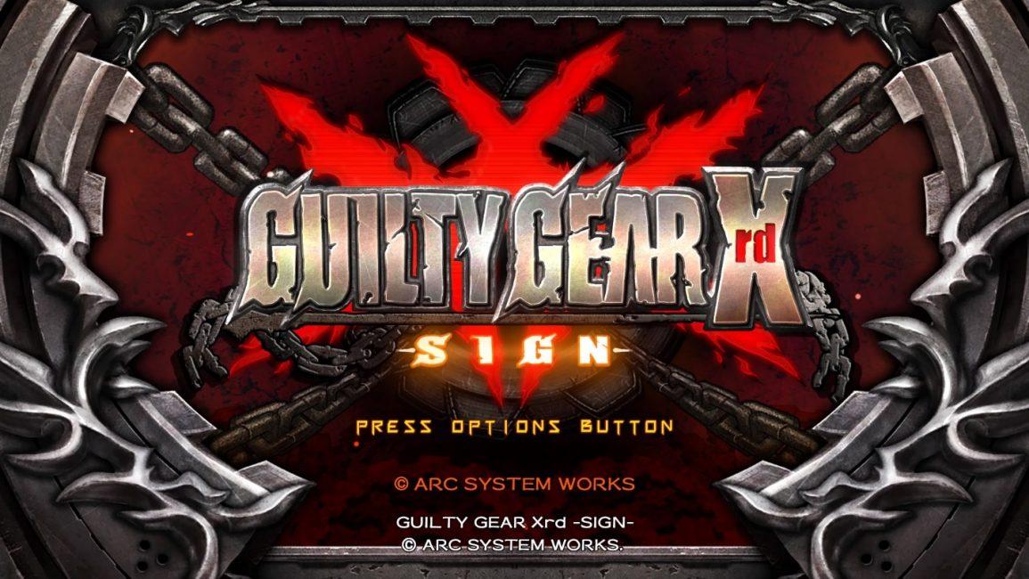 Превью игры Guilty Gear Xrd Sign