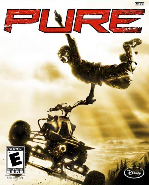 Игра в жанре «гонки»: Pure