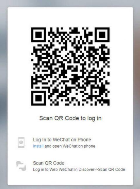 Окно сканирование QR-кода