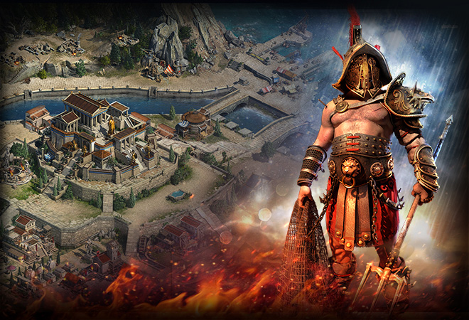Браузерная игра Спарта: война империй