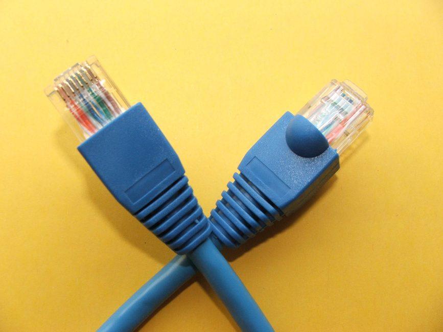 Как обжать кабель интернета