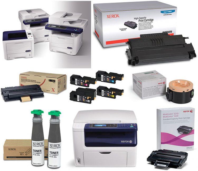 Картриджи принтера Xerox