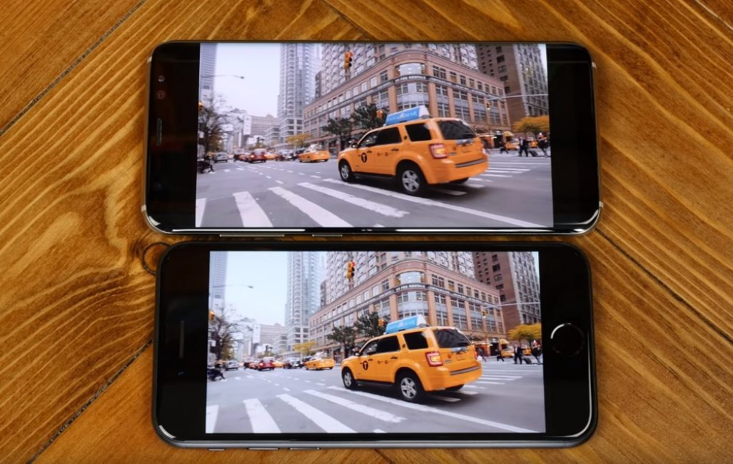 Сравнение камер iPhone 7 и Samsung Galaxy S8