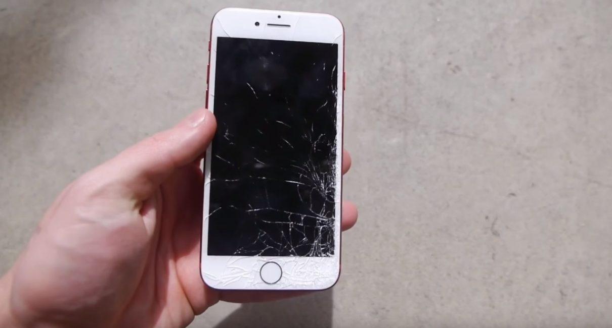 Краш-тест iPhone 7