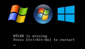 «NTLDR is missing» — что делать? Решение проблемы с загрузкой Windows