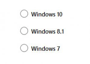 Выбор вашей операционной системы