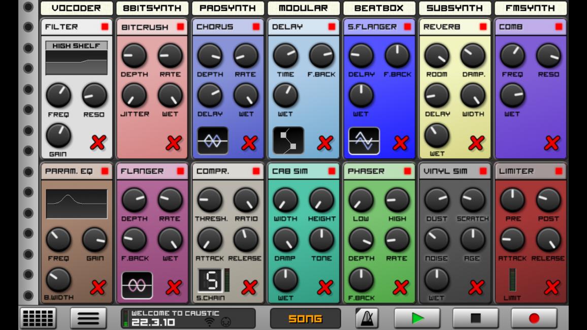 Программа для создания музыки на андроид Single Cell Software