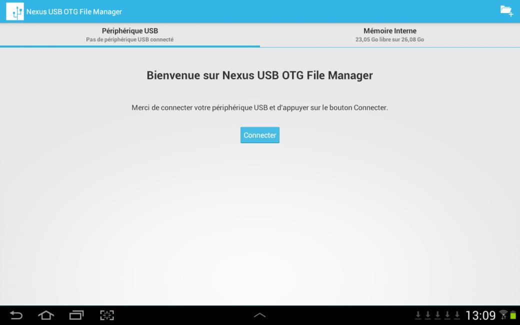 Nexus USB OTG File Manager