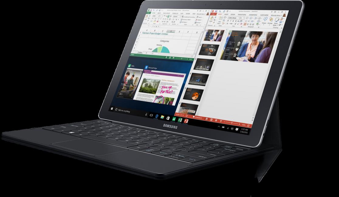 Внешний вид планшета Samsung Galaxy Tab Pro S