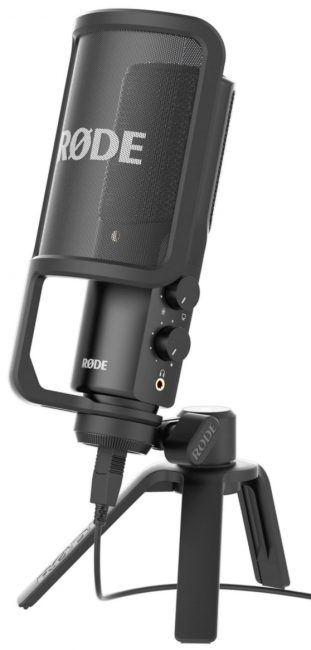 Внешний вид микрофона Rode NT