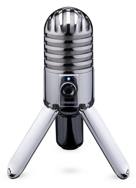 Внешний вид микрофона Samson Meteor Mic