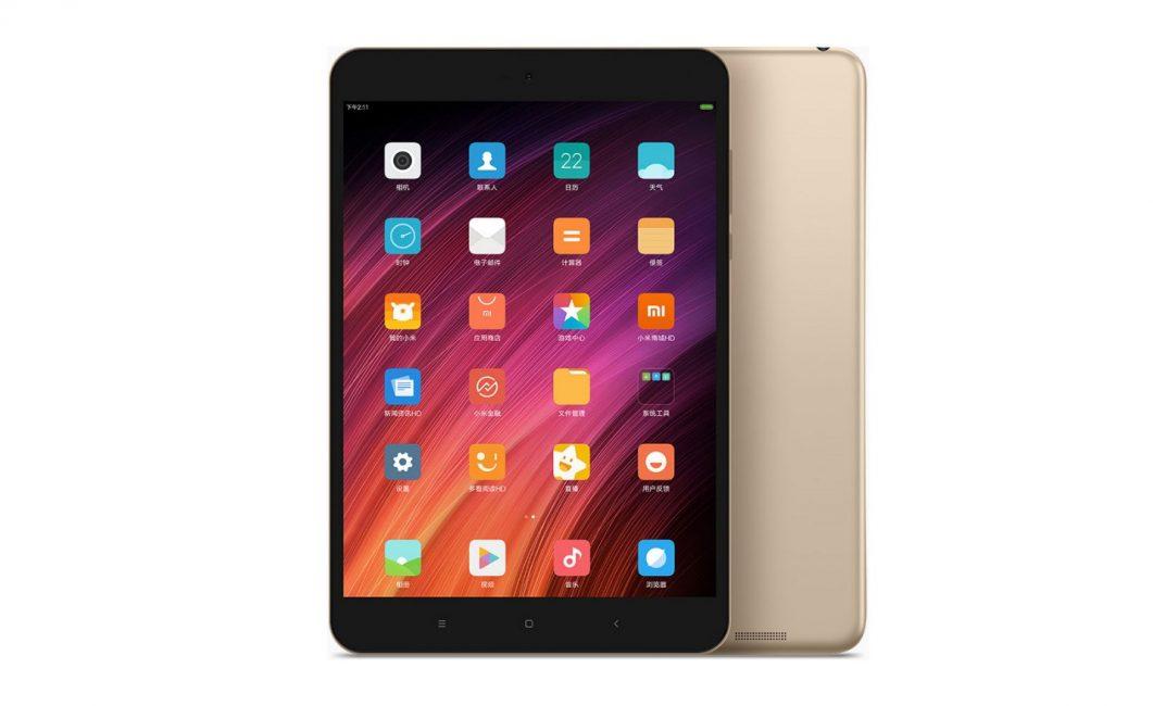 Внешний вид планшета Xiaomi MiPad 3